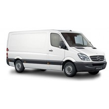 Mercedes Sprinter passo standard, high roof 2006+ Kit bare 10721 La Prealpina PROFESSIONAL si suport montare