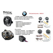 Sistem audio Dedicat BMW-Focal