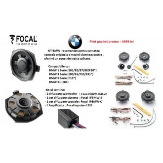 Sistem audio Dedicat BMW-Focal
