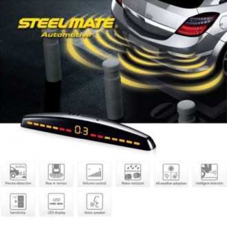 Senzori de parcare spate STEELMATE PTS410M7