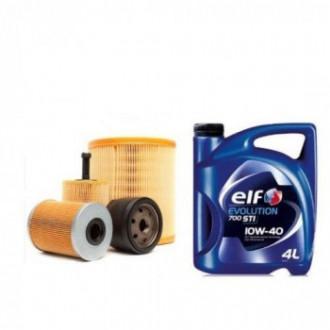 Revizie: schimb ulei+ filtru ulei, fitru aer, filtru carburant