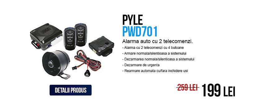 Pyle PWD701